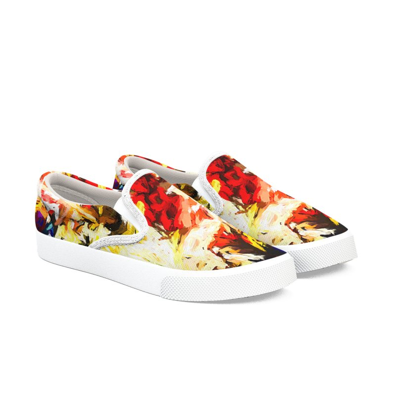 Star Man Men's Slip-On Shoes by jackievano's Artist Shop