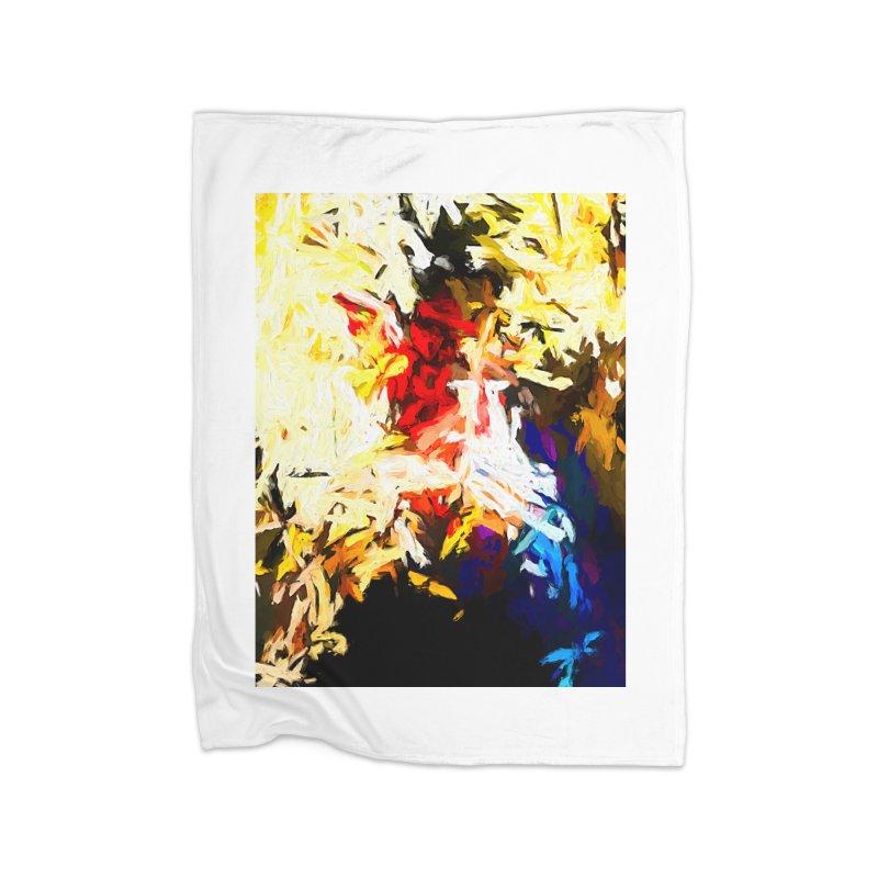 Star Man Home Fleece Blanket Blanket by jackievano's Artist Shop