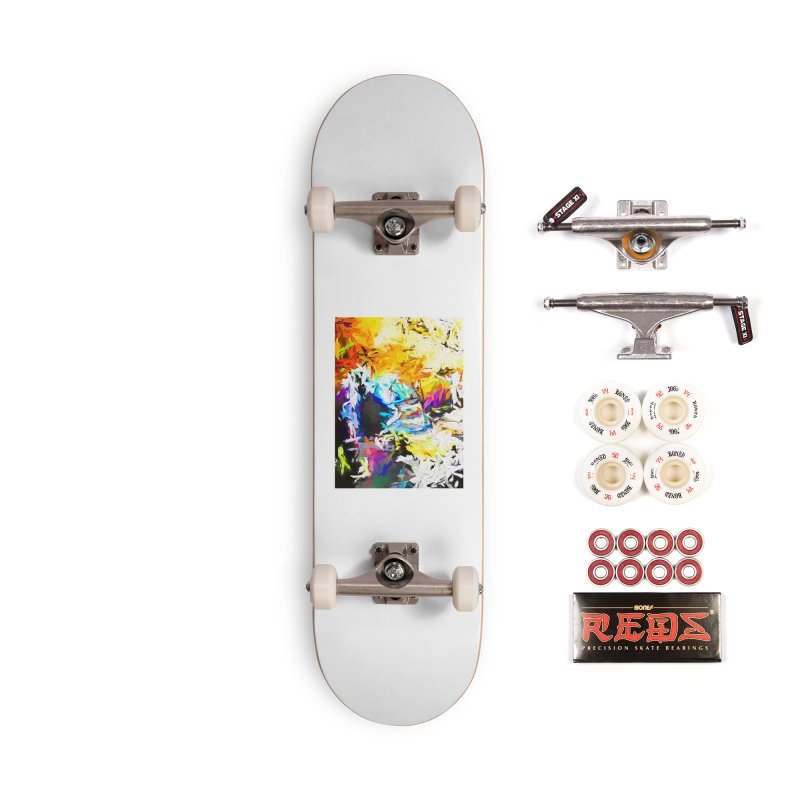 Green Man Boogie Accessories Complete - Pro Skateboard by jackievano's Artist Shop