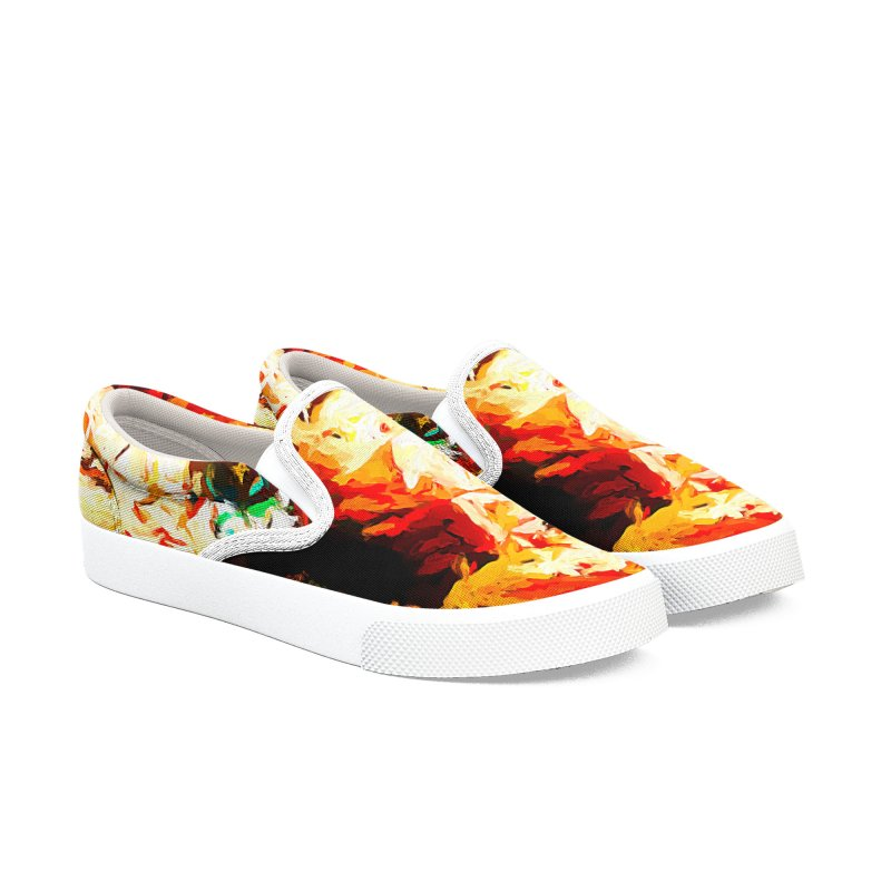 Totem Soul Men's Slip-On Shoes by jackievano's Artist Shop