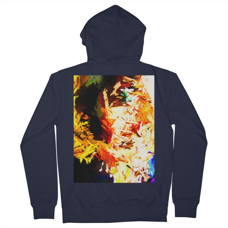 Totem Soul Men's French Terry Zip-Up Hoody by jackievano's Artist Shop
