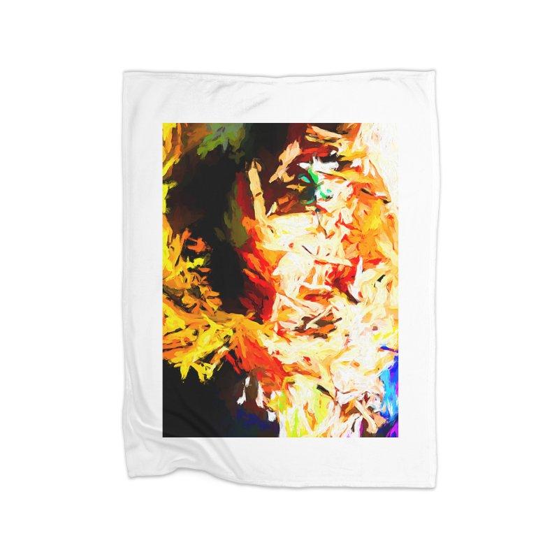 Totem Soul Home Fleece Blanket Blanket by jackievano's Artist Shop