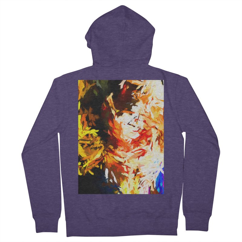 Woman Soul Men's French Terry Zip-Up Hoody by jackievano's Artist Shop
