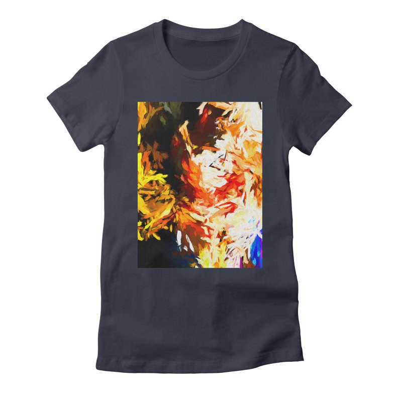 Woman Soul Women's Fitted T-Shirt by jackievano's Artist Shop