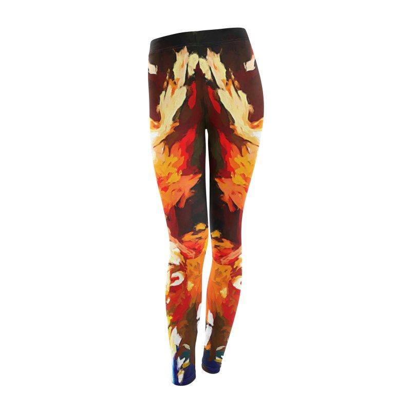 Phantom Soul Women's Leggings Bottoms by jackievano's Artist Shop