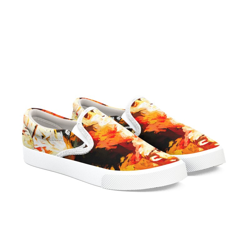 Phantom Soul Men's Slip-On Shoes by jackievano's Artist Shop