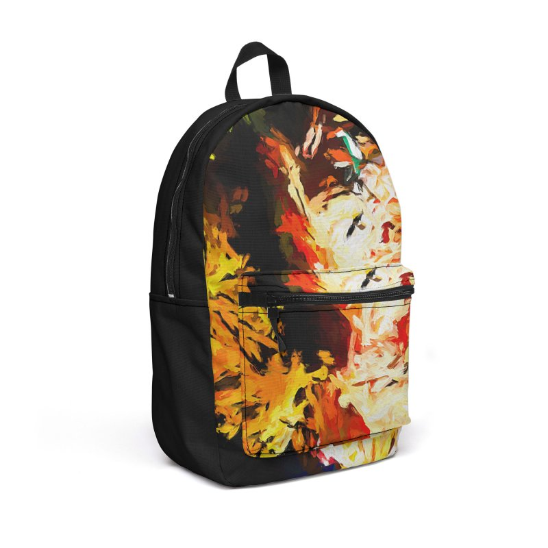 Bull Soul Accessories Backpack Bag by jackievano's Artist Shop
