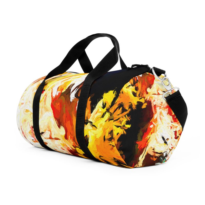 Bull Soul Accessories Duffel Bag Bag by jackievano's Artist Shop