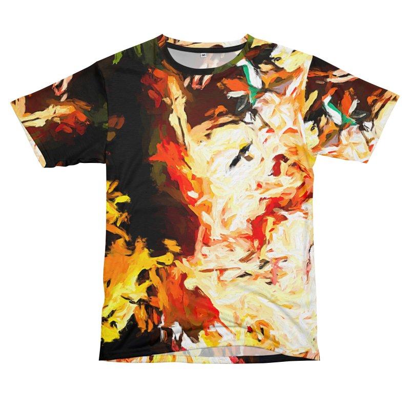 Bull Soul Men's T-Shirt Cut & Sew by jackievano's Artist Shop