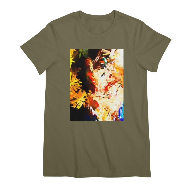 Bull Soul Women's Premium T-Shirt by jackievano's Artist Shop