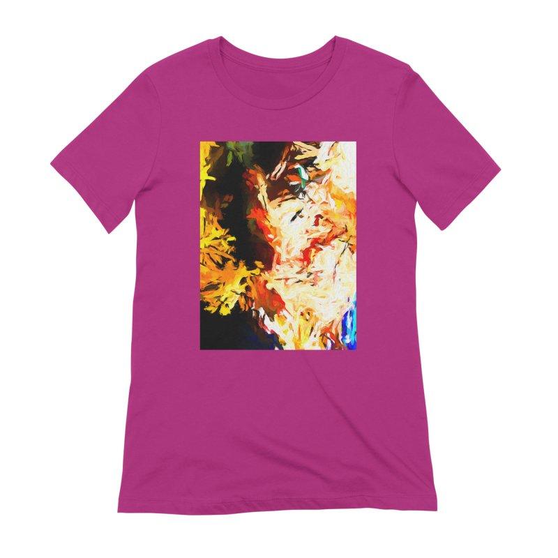 Bull Soul Women's Extra Soft T-Shirt by jackievano's Artist Shop