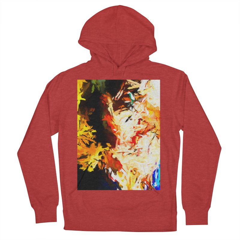 Bull Soul Women's French Terry Pullover Hoody by jackievano's Artist Shop
