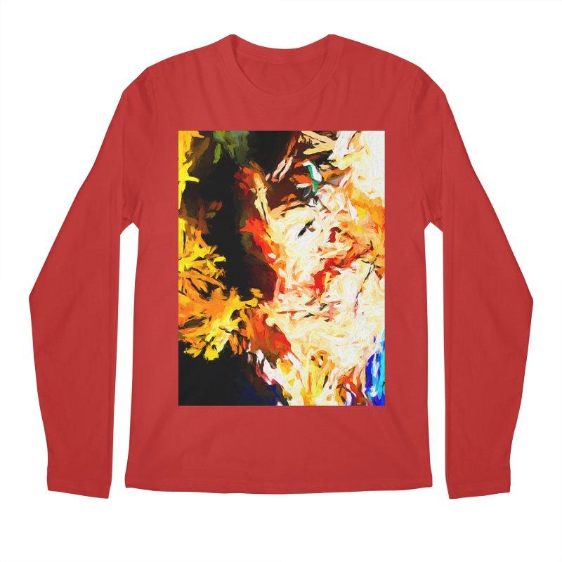 Bull Soul Men's Regular Longsleeve T-Shirt by jackievano's Artist Shop