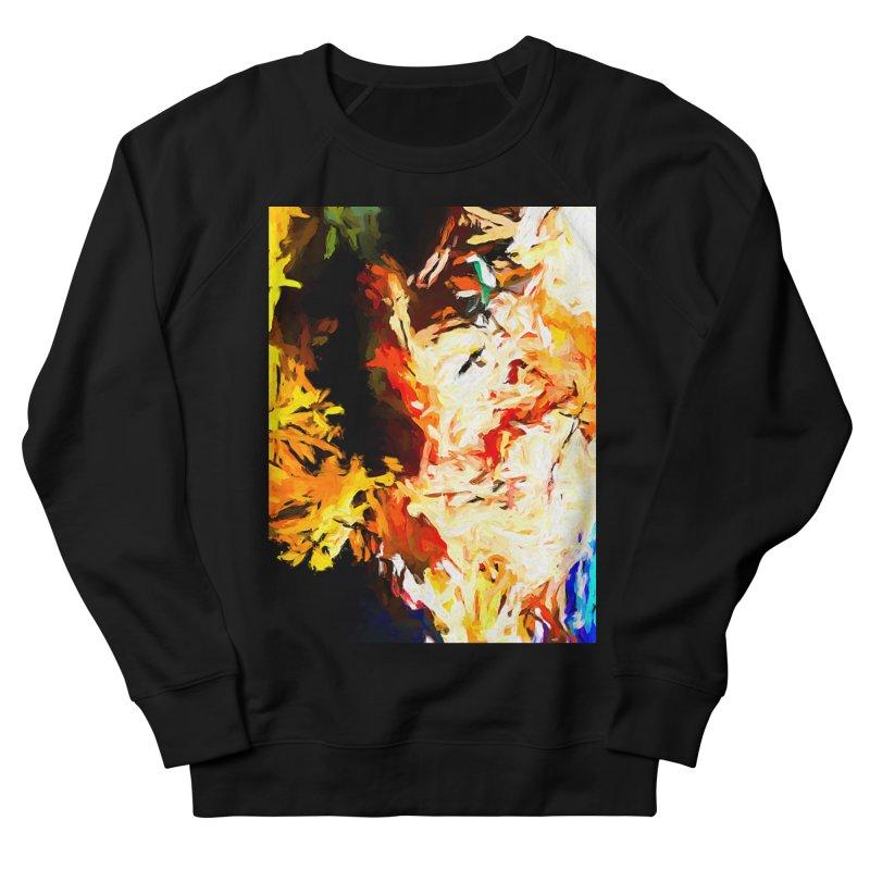 Bull Soul Men's French Terry Sweatshirt by jackievano's Artist Shop