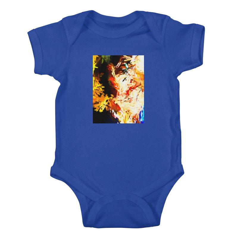Bull Soul Kids Baby Bodysuit by jackievano's Artist Shop