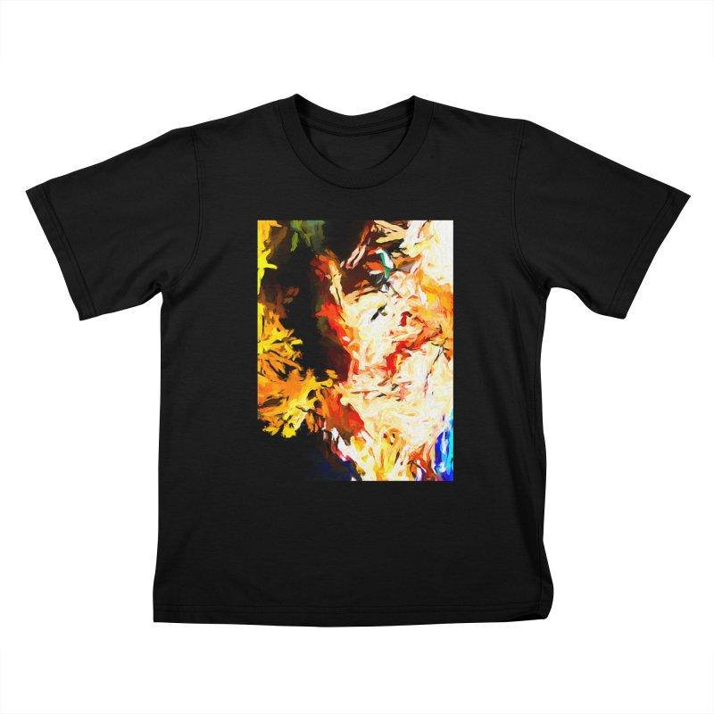 Bull Soul Kids T-Shirt by jackievano's Artist Shop