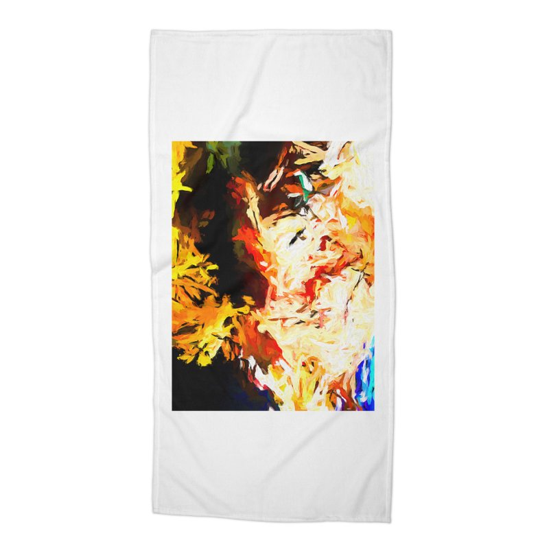 Bull Soul Accessories Beach Towel by jackievano's Artist Shop