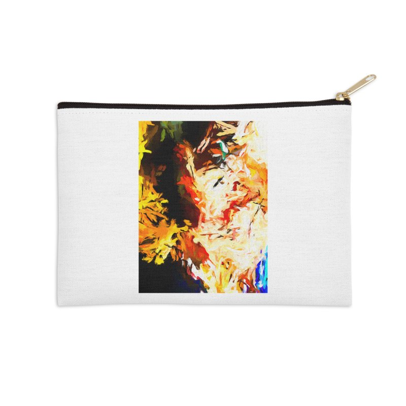 Bull Soul Accessories Zip Pouch by jackievano's Artist Shop
