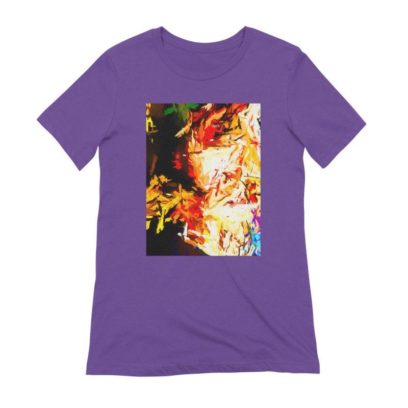Fire Bull Soul Women's Extra Soft T-Shirt by jackievano's Artist Shop