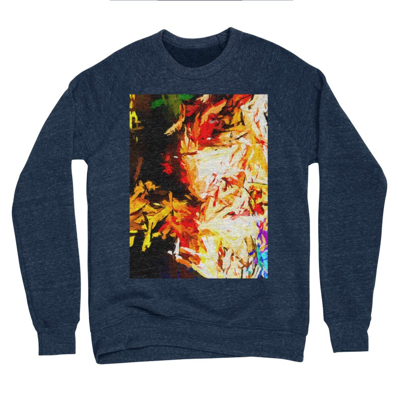 Fire Bull Soul Men's Sponge Fleece Sweatshirt by jackievano's Artist Shop