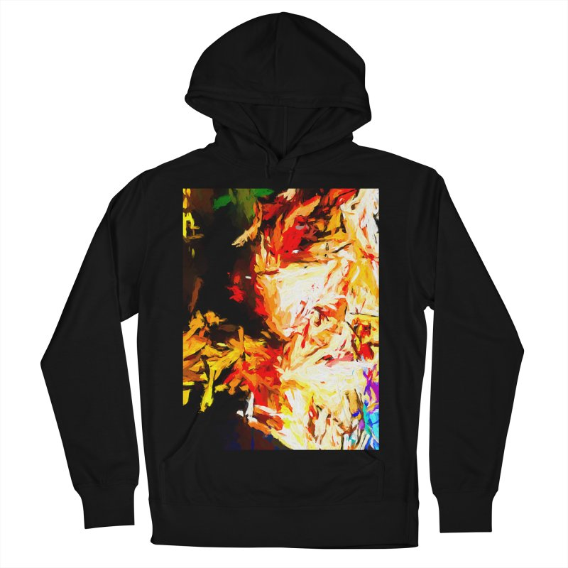 Fire Bull Soul Women's French Terry Pullover Hoody by jackievano's Artist Shop