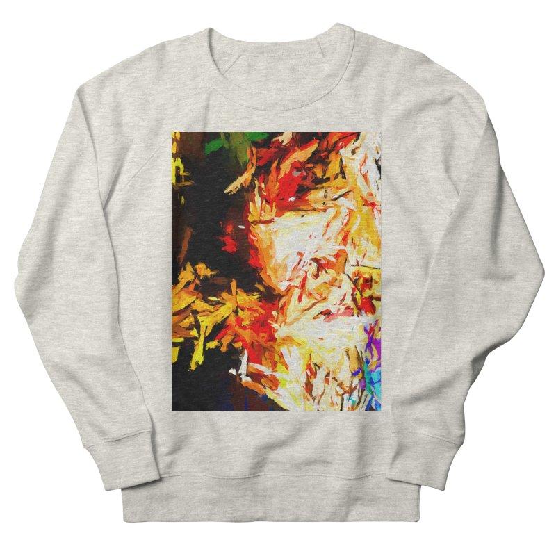 Fire Bull Soul Men's French Terry Sweatshirt by jackievano's Artist Shop
