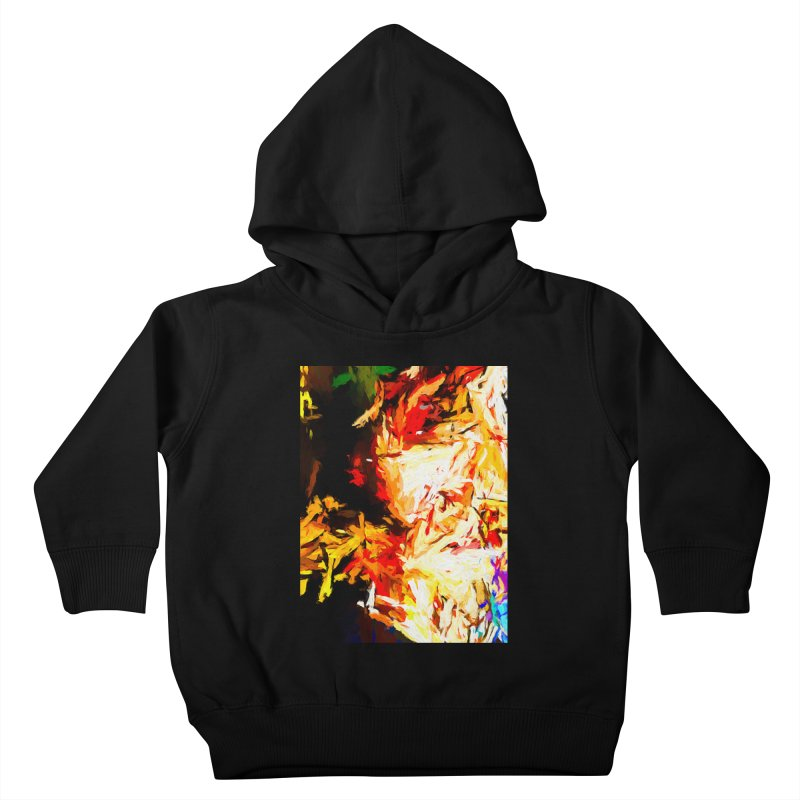 Fire Bull Soul Kids Toddler Pullover Hoody by jackievano's Artist Shop