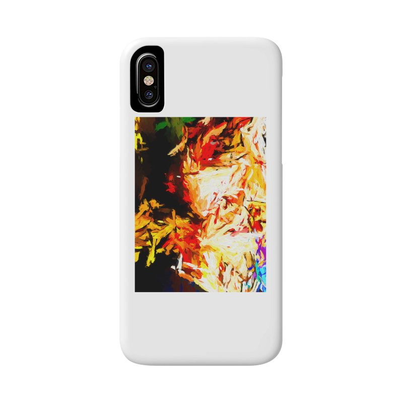 Fire Bull Soul Accessories Phone Case by jackievano's Artist Shop
