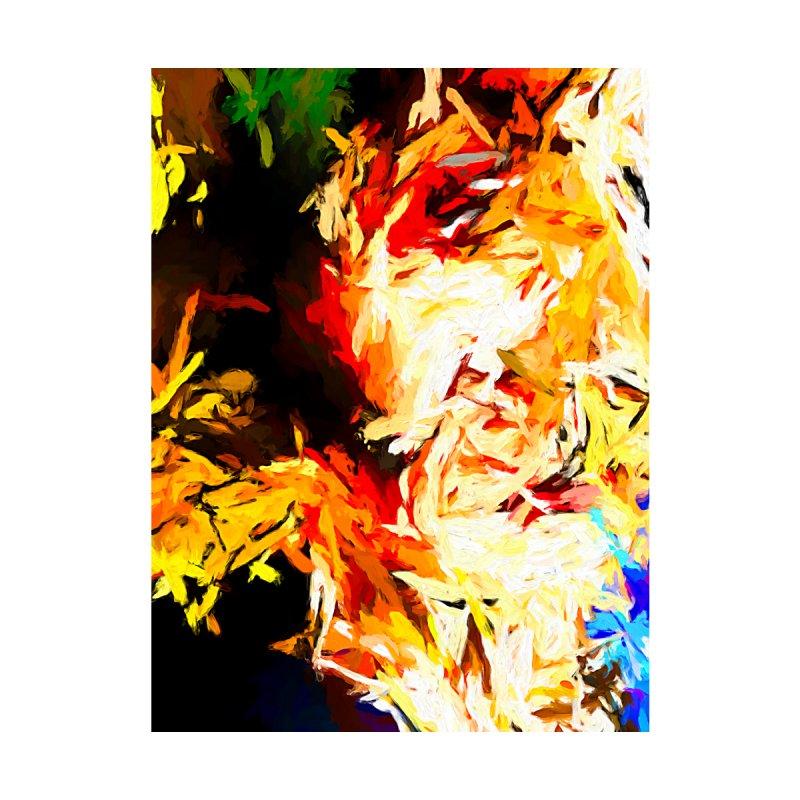 Fire Bull Scream by jackievano's Artist Shop