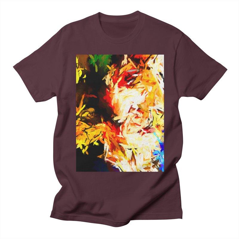 Fire Bull Scream Women's Regular Unisex T-Shirt by jackievano's Artist Shop