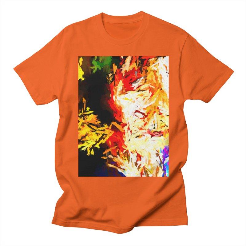 Fire Bull Mask Women's Regular Unisex T-Shirt by jackievano's Artist Shop