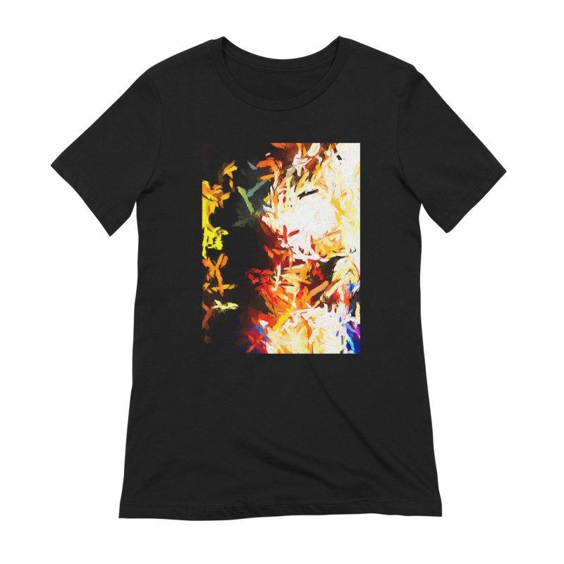 Phantom Mask Women's Extra Soft T-Shirt by jackievano's Artist Shop