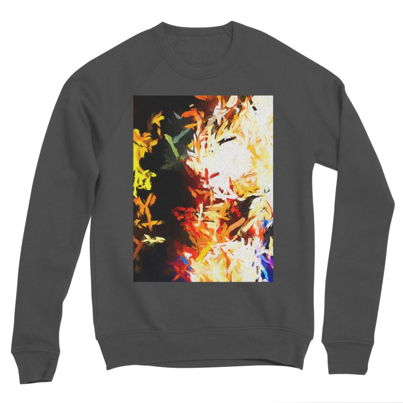 Phantom Mask Men's Sponge Fleece Sweatshirt by jackievano's Artist Shop
