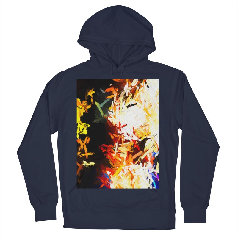 Phantom Mask Women's French Terry Pullover Hoody by jackievano's Artist Shop