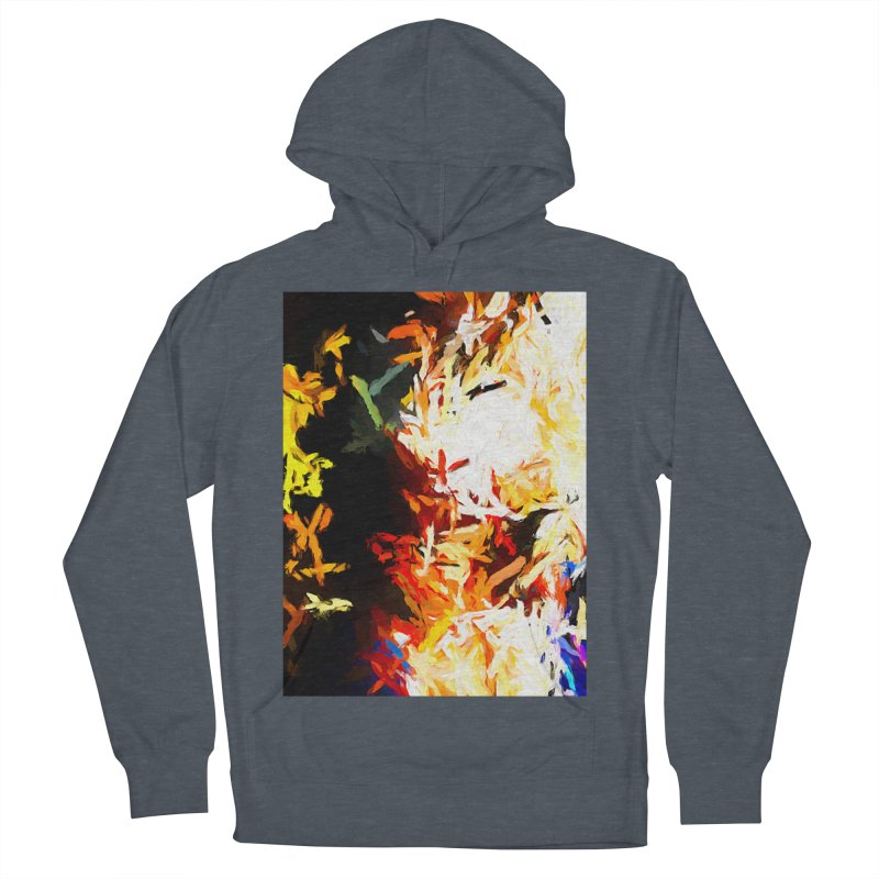 Phantom Mask Men's French Terry Pullover Hoody by jackievano's Artist Shop