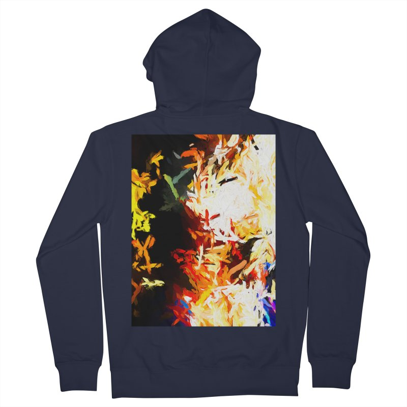 Phantom Mask Men's French Terry Zip-Up Hoody by jackievano's Artist Shop