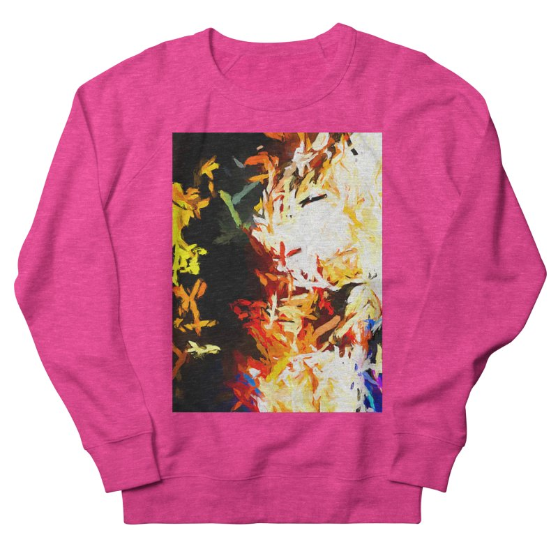 Phantom Mask Women's French Terry Sweatshirt by jackievano's Artist Shop
