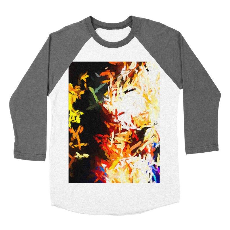 Phantom Mask Women's Baseball Triblend Longsleeve T-Shirt by jackievano's Artist Shop