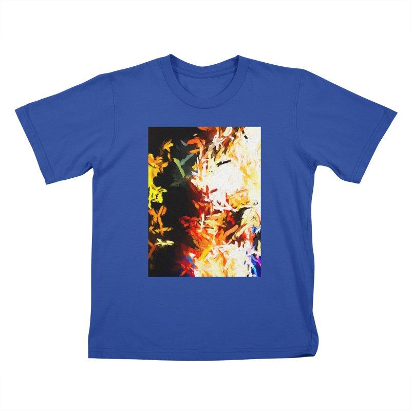 Phantom Mask Kids T-Shirt by jackievano's Artist Shop