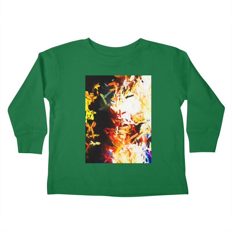 Phantom Mask Kids Toddler Longsleeve T-Shirt by jackievano's Artist Shop