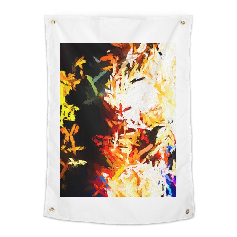 Phantom Mask Home Tapestry by jackievano's Artist Shop