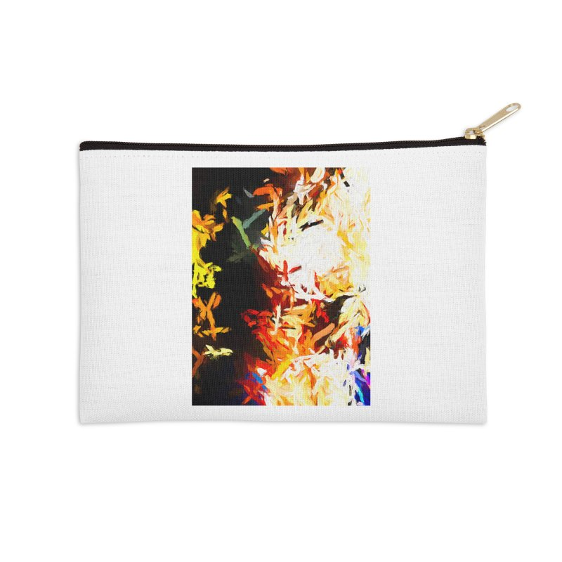 Phantom Mask Accessories Zip Pouch by jackievano's Artist Shop