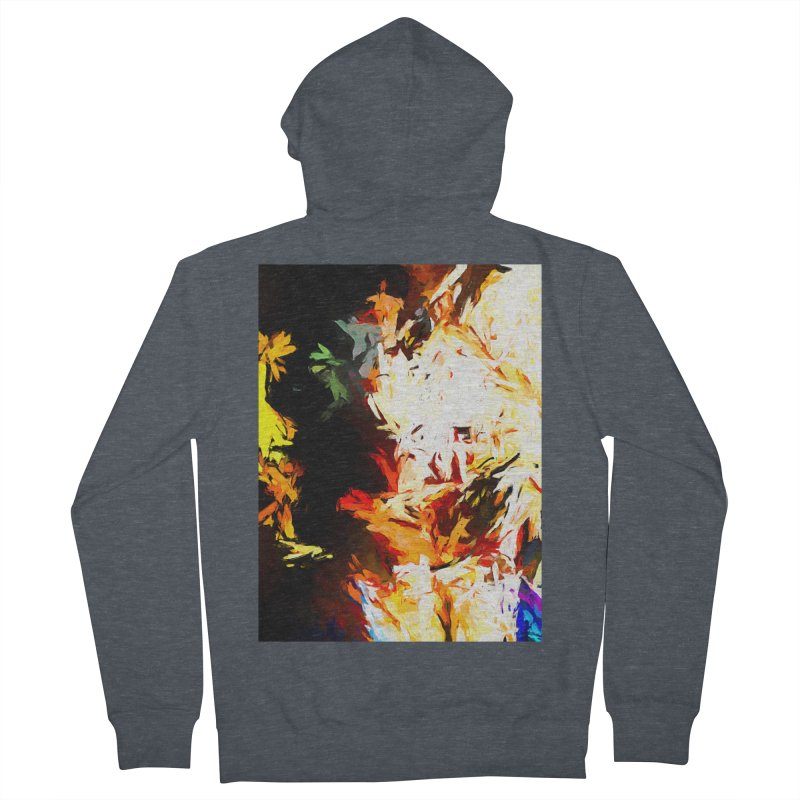 Totem Bird Soul Men's French Terry Zip-Up Hoody by jackievano's Artist Shop