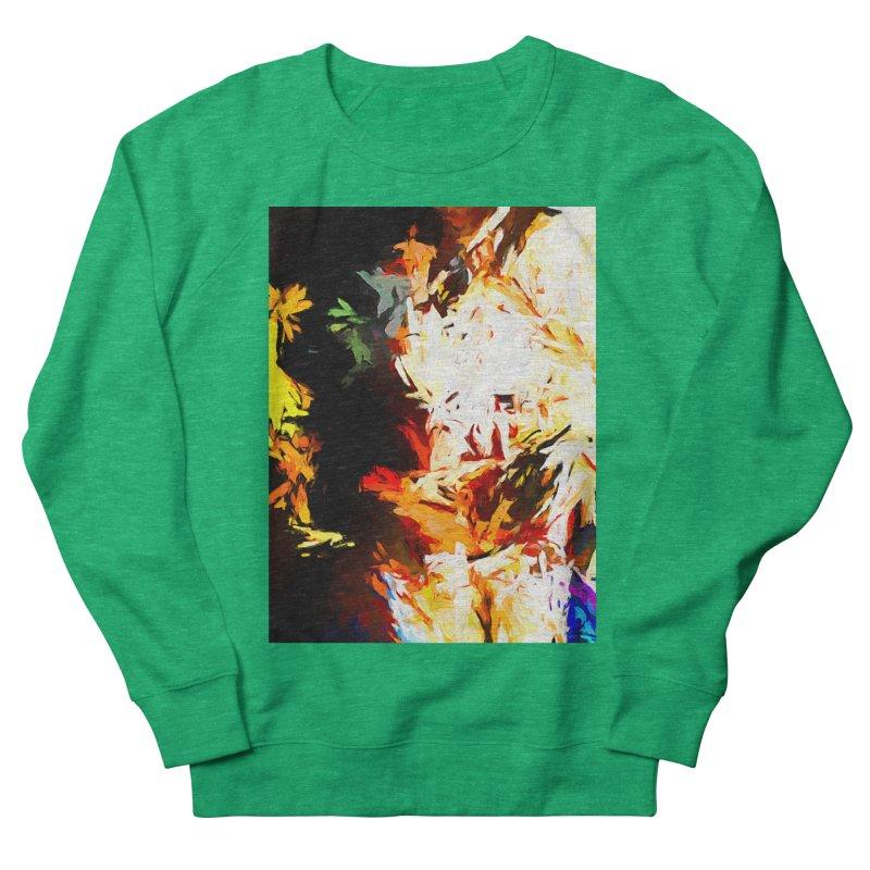 Totem Bird Soul Men's French Terry Sweatshirt by jackievano's Artist Shop