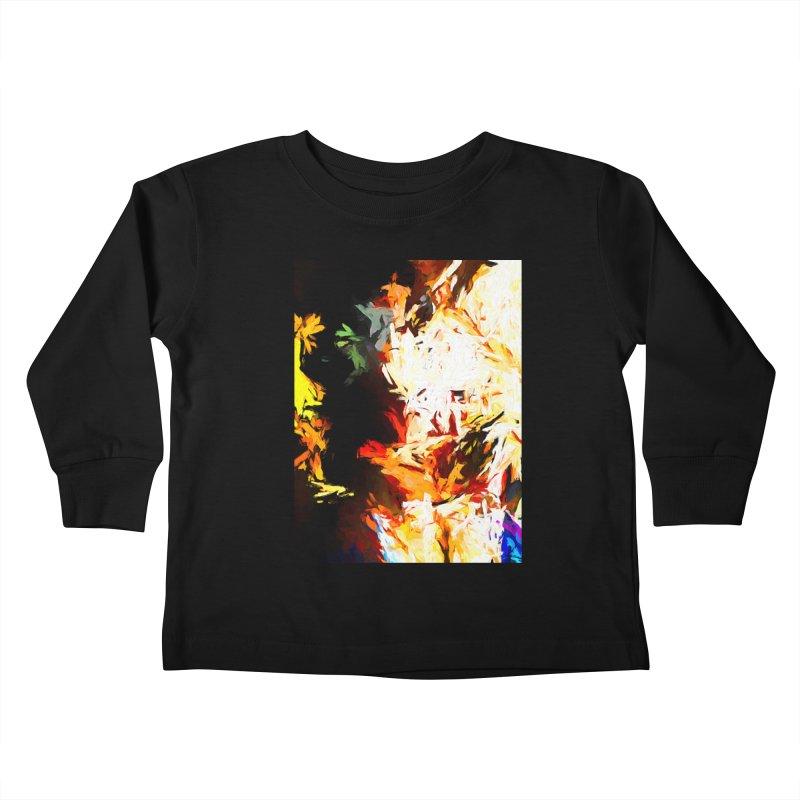 Totem Bird Soul Kids Toddler Longsleeve T-Shirt by jackievano's Artist Shop