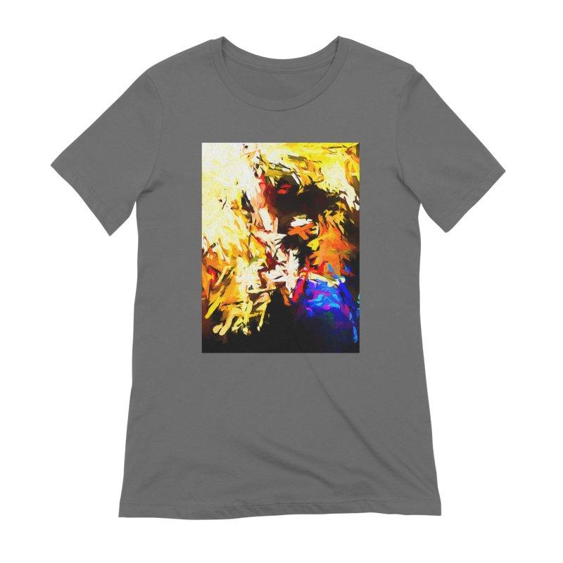 Talking Man Women's Extra Soft T-Shirt by jackievano's Artist Shop