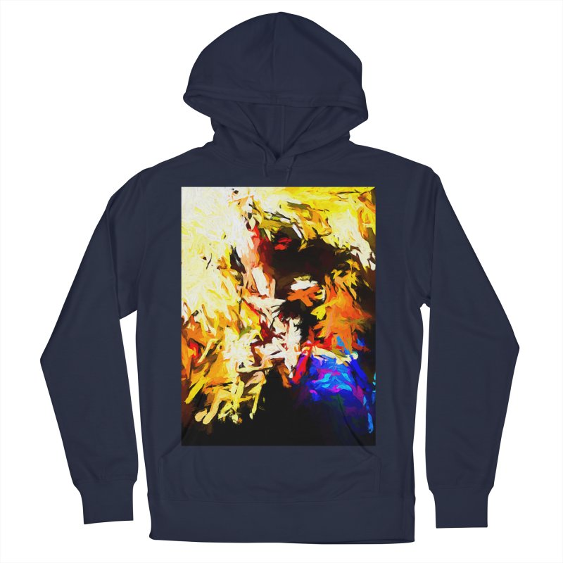 Talking Man Women's French Terry Pullover Hoody by jackievano's Artist Shop