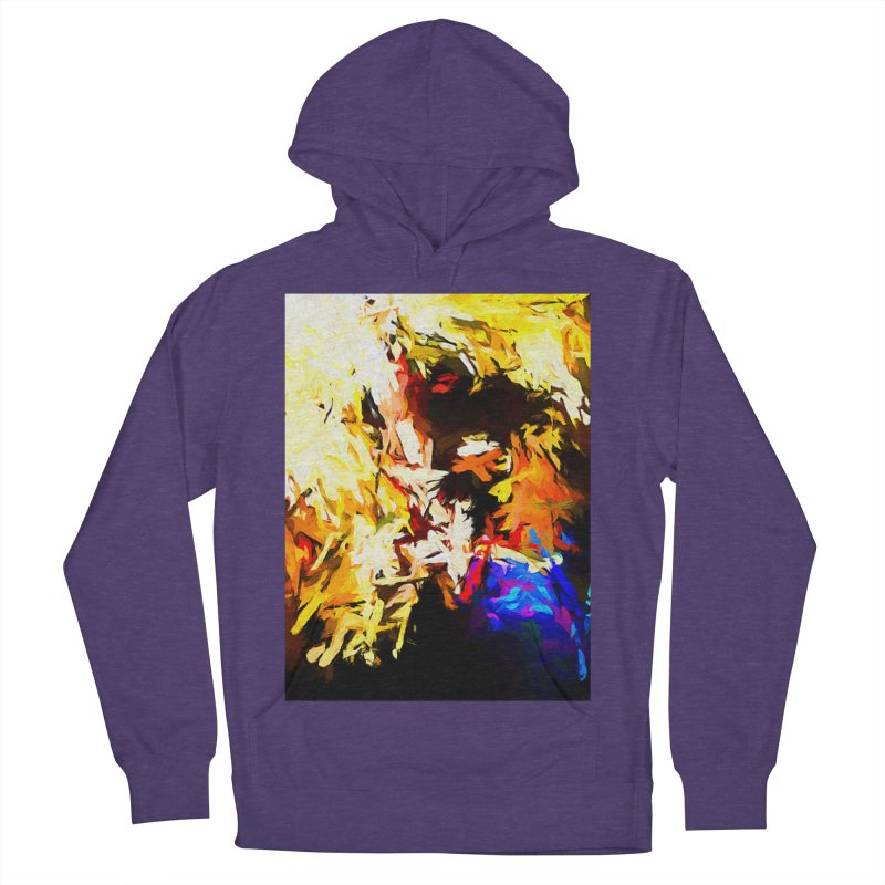 Talking Man Men's French Terry Pullover Hoody by jackievano's Artist Shop