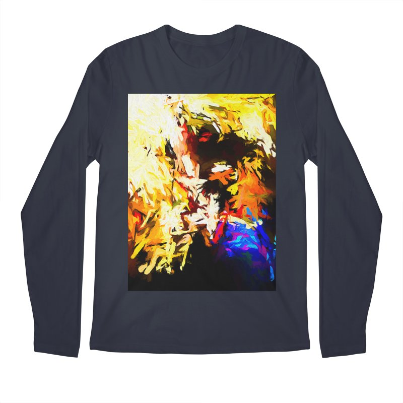 Talking Man Men's Regular Longsleeve T-Shirt by jackievano's Artist Shop