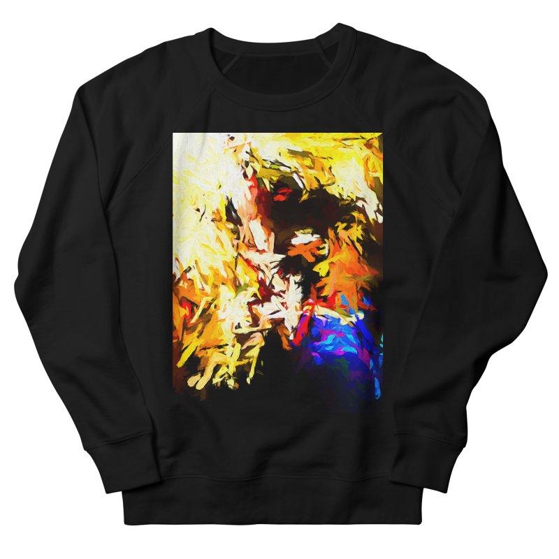 Talking Man Men's French Terry Sweatshirt by jackievano's Artist Shop